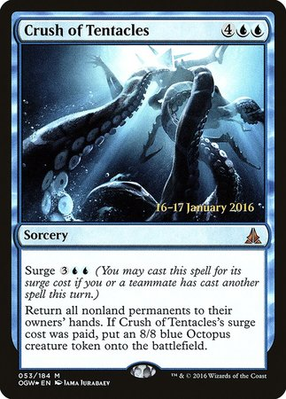 Crush of Tentacles [Oath of the Gatewatch Promos] | The Dork Den
