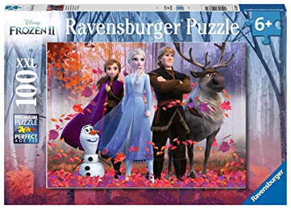 Puzzle Frozen 2 Magic of the Forest 100 piece | The Dork Den