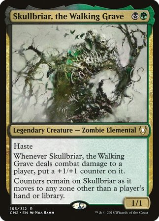 Skullbriar, the Walking Grave [Commander Anthology Volume II] | The Dork Den
