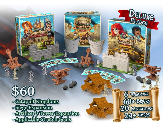 Catapult Kingdoms - Kickstarter Edition | The Dork Den