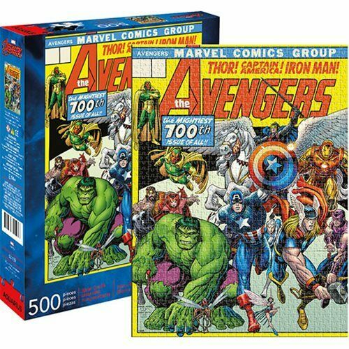 Marvel Avengers 500 Piece Puzzle | The Dork Den