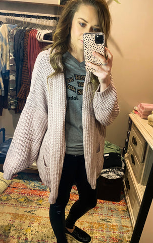 Most Loved Knit Cardigan