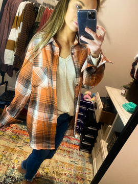 Truth or Dare Plaid Top