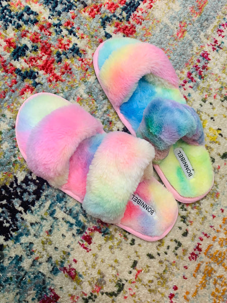 Chasing Rainbows Slipper