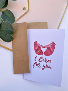 I Bern For You Greeting Card