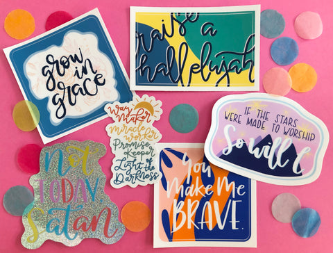 faith sticker bundle