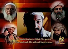 IntelCenter al-Qaeda Videos DVD V101: Osama bin Laden: Come to Jihad (Pashto Voiceover & English Subtitles)