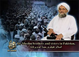IntelCenter al-Qaeda Videos DVD V136: A Message from Sheikh Ayman al-Zawahiri to the Pakistan Army and the People of Pakistan (English Subtitles)