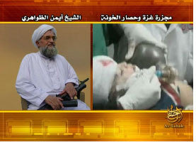 IntelCenter al-Qaeda Videos DVD V156: Ayman al-Zawahiri: The Gaza Massacre and the Siege of the Traitors