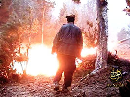 IntelCenter al-Qaeda Videos DVD V081: Holocaust of the Americans in the Land of Khorasan, The Islamic Emirate: Firing of BM Rockets on a Base in Lwara, Hitting it Directly
