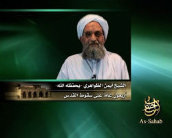 IntelCenter al-Qaeda Videos DVD V084: Ayman al-Zawahiri: Forty Years Since the Fall of Jerusalem