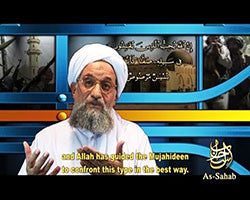 IntelCenter al-Qaeda Videos DVD V085: Ayman al-Zawahiri: The Advice of One Concerned (English Subtitles)