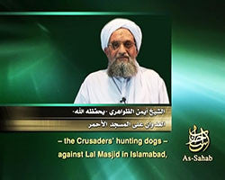 IntelCenter al-Qaeda Videos DVD V087: Ayman al-Zawahiri: The Aggression Against Lal Masjid (English Subtitles)