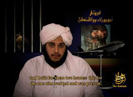 IntelCenter al-Qaeda Videos DVD V098: The Wills of the Heroes of the Raids on New York and Washington, The Will of the Martyr Abu Musab Walid al-Shehri (English Subtitles)
