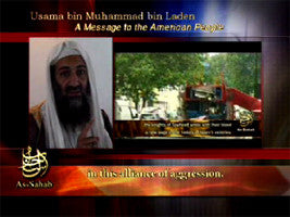 IntelCenter al-Qaeda Videos DVD V021: Osama bin Laden 19 Jan. 2006 Audio Address Video (English Subtitles)