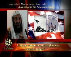 IntelCenter al-Qaeda Videos DVD V022: Osama bin Laden 19 Jan. 2006 Audio Address Video (English Voiceover)