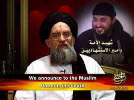 IntelCenter al-Qaeda Videos DVD V037: Ayman al-Zawahiri: Elegizing Abu Musab al-Zarqawi