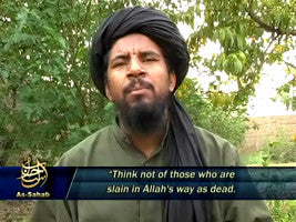 IntelCenter al-Qaeda Videos DVD V042: Abu Yahya al-Libi: Light and Fire in Elegizing the Martyr Abu Musab al-Zarqawi (English Subtitles)
