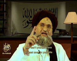 IntelCenter al-Qaeda Videos DVD V048: Ayman al-Zawahiri: Bush, the Vatican's Pope, Darfur and the Crusades (English Subtitles)
