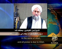 IntelCenter al-Qaeda Videos DVD V060: Ayman al-Zawahiri: Tremendous Lessons & Events in the Year 1427H (English Subtitles)