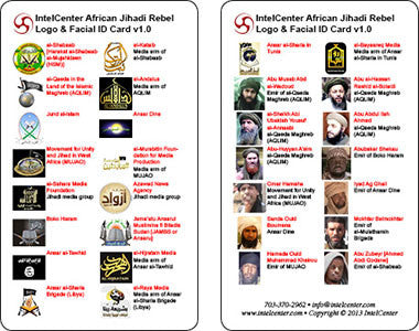 IntelCenter African Jihadi Rebel Group Logo & Facial Identification Card v1.0