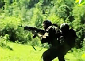 IntelCenter Chechen Rebels Videos DVD V6: Attack on Collaborators in Southern Chechnya