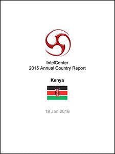 IntelCenter Annual Country Report: Kenya: 2015 (Updated 19 Jan. 2016)