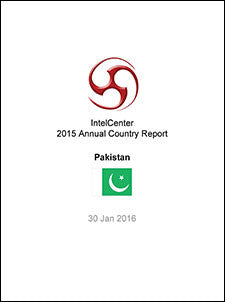 IntelCenter Annual Country Report: Pakistan: 2015 (Updated 30 Jan. 2016)