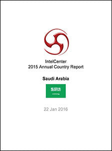 IntelCenter Annual Country Report: Saudi Arabia: 2015 (Updated 22 Jan. 2016)