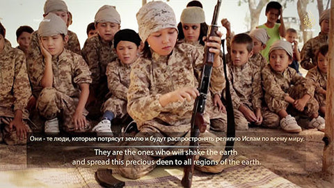 IntelCenter Briefing Video Clip: Islamic State Jihadi Children 1
