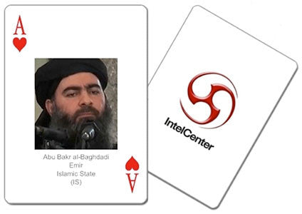 IntelCenter Most Wanted Islamic State (IS) Terrorists Playing Cards  [PREORDER]