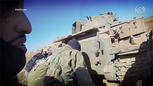 IntelCenter Briefing Video Clip: Islamic State Use of Tanks 1