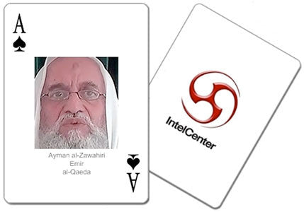 IntelCenter Most Wanted Jihadi Terrorists Playing Cards v2