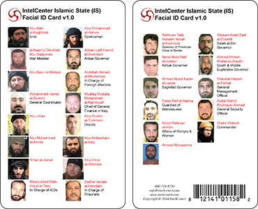 IntelCenter Islamic State (IS) Facial Identification Card v1.0