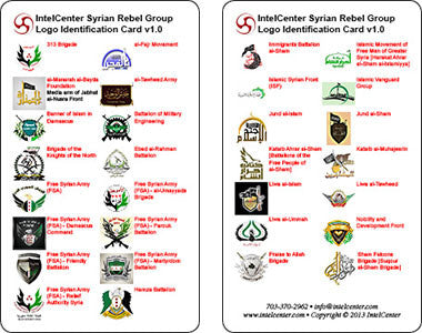 IntelCenter Syrian Rebel Group Logo Identification Card v1.0