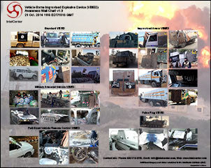 Vehicle-Borne Improvised Explosive Device (VBIED) Awareness Wall Chart v1.0 (Updated 21 Oct. 2014)