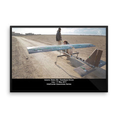 IntelCenter Awareness Series: Kamikaze Drone: Framed Print