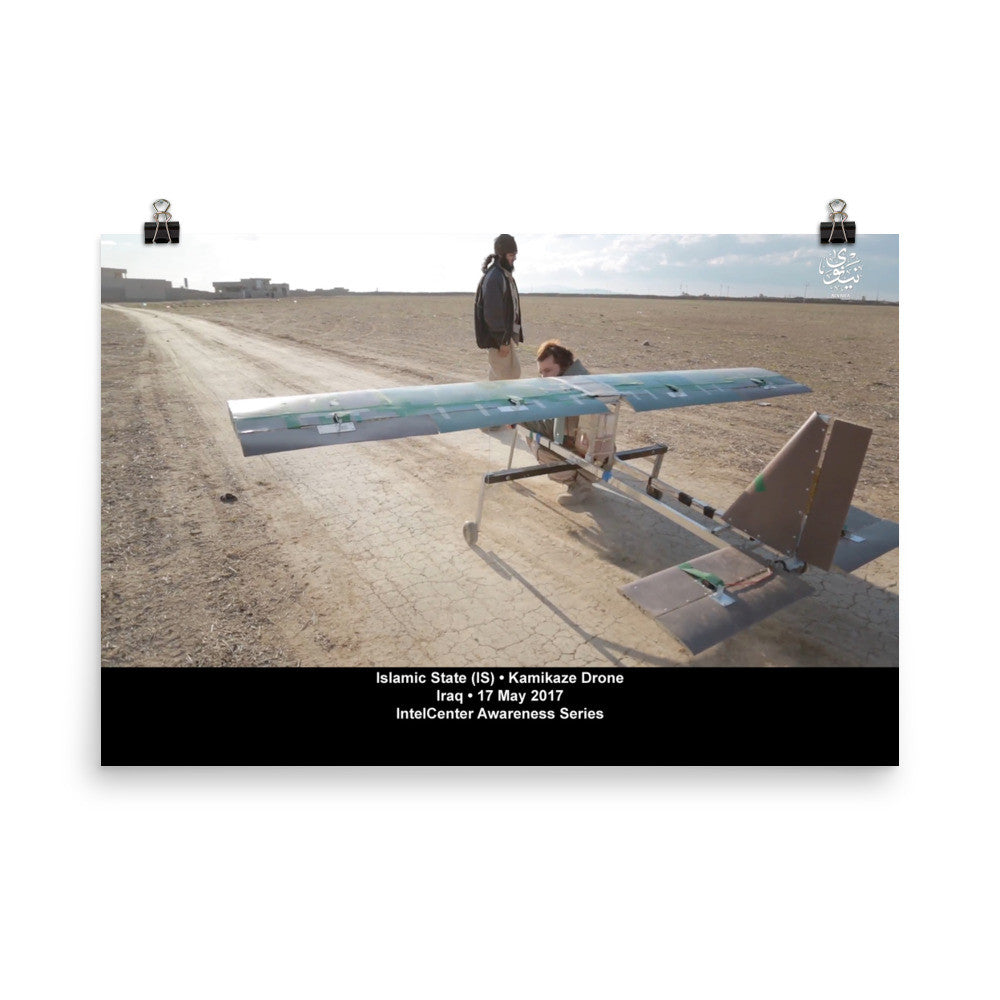 IntelCenter Awareness Series: Kamikaze Drone: Poster