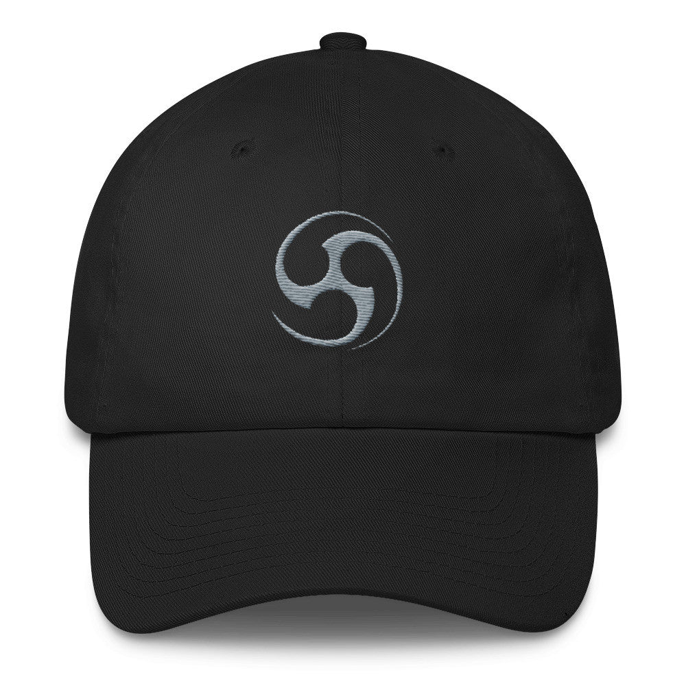 IntelCenter Gray Logo Cotton Cap
