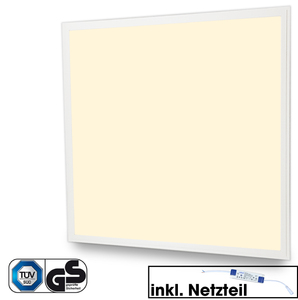 Led Panel 62 x 62 cm 40 Watt 4000 Lumen 3000K Warmweiß - Leuchtrium