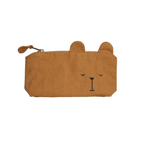 "Trousse ""Ours"" Ocre"