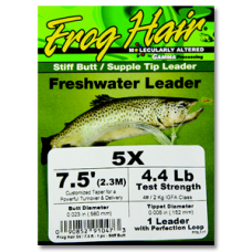 FrogHair Leaders - Stiff Butt (3pk)