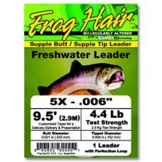 FrogHair Leaders - Supple Butt (3pk)