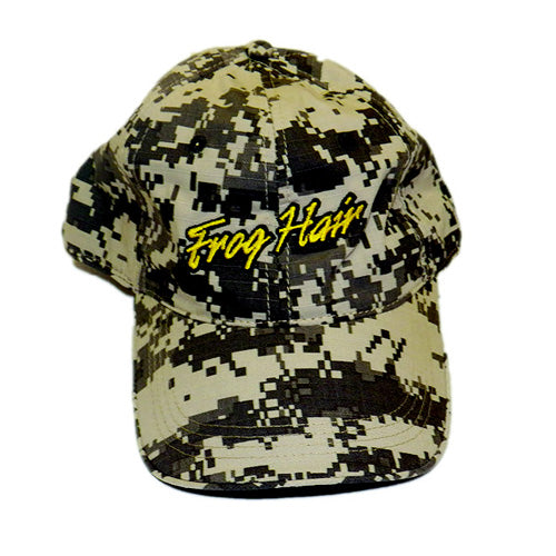 FrogHair Fishing Hat - Camo