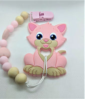 Cat Chewlery Pacifier Clip