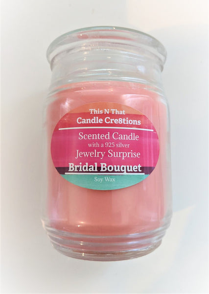 Bridal Bouquet Jewelry Candle