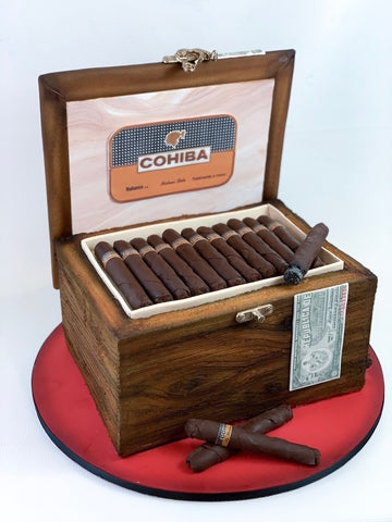 Custom Cake Cohiba Cigar