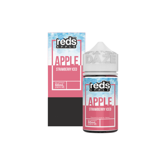 Reds E-Juice - Strawberry Iced