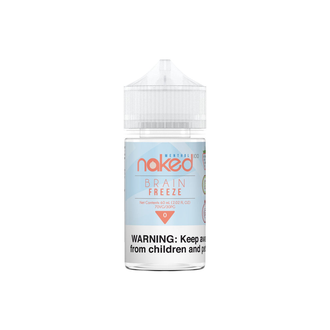 Naked 100 Menthol - Strawberry Pom