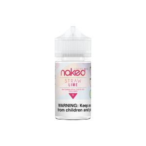 Naked 100 Fusion - Straw Lime